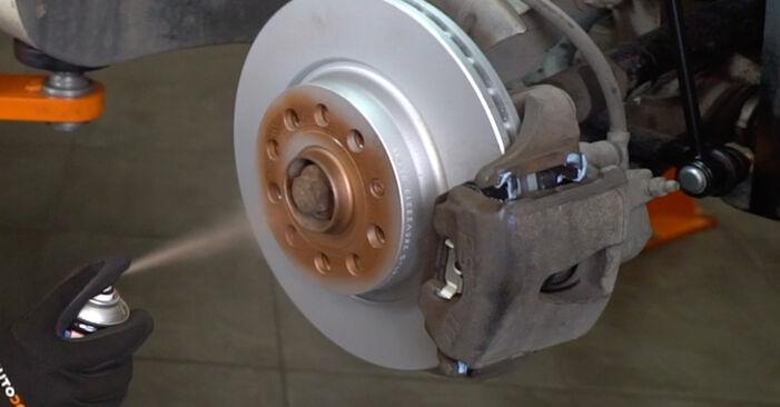 Schritt-für-Schritt-Anleitung zum selbstständigen Wechsel von VW Caddy 3 kasten 2005 1.6 Koppelstange