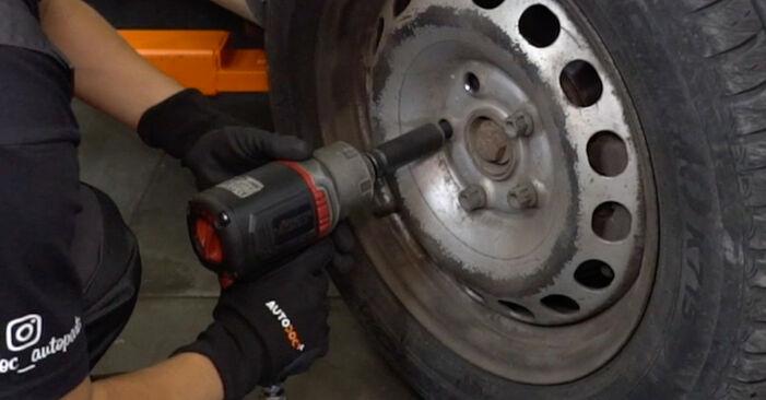 Koppelstange VW Caddy 3 kasten 2.0 SDI 2006 wechseln: Kostenlose Reparaturhandbücher