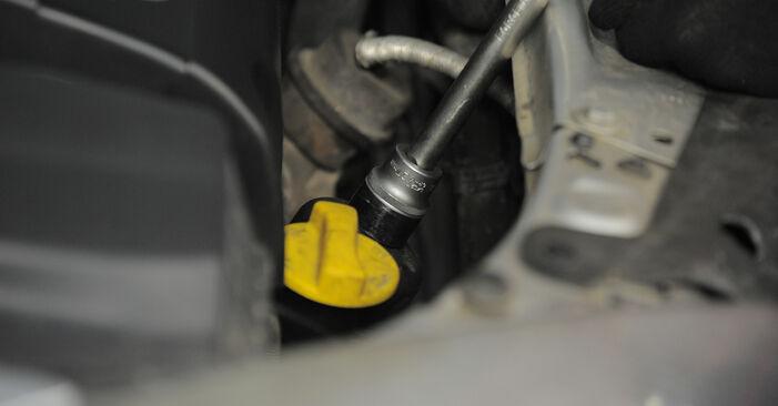 Bytte Oljefilter på Astra H Caravan 2014 1.6 (L35) alene