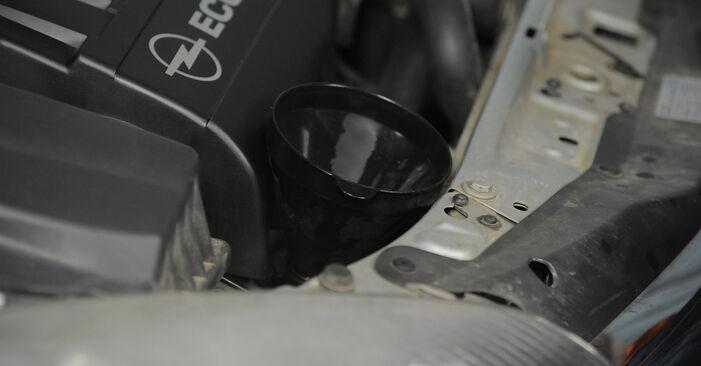 Hvordan skifte OPEL ASTRA 2011 Oljefilter trinn–for–trinn veiledning