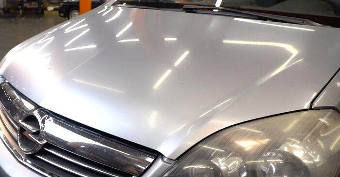 Trinn-for-trinn anbefalinger for hvordan du kan bytte Astra H Caravan 2006 1.4 (L35) Oljefilter selv