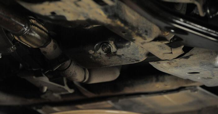 Vanskelighetsgrad: Bytte av Oljefilter på Astra H Caravan 1.6 (L35) 2010 – last ned illustrert veiledning
