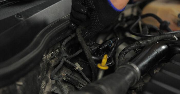 Schritt-für-Schritt-Anleitung zum selbstständigen Wechsel von Opel Astra H Caravan 2006 1.4 (L35) Kraftstofffilter