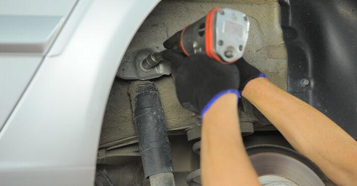 Austauschen Anleitung Stoßdämpfer am Opel Astra H Caravan 2014 1.6 (L35) selbst