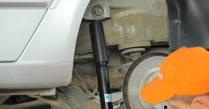 Wie Stoßdämpfer Opel Astra H Caravan 1.6 (L35) 2004 tauschen - Kostenlose PDF- und Videoanleitungen