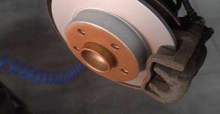 Wie schwer ist es, selbst zu reparieren: Stoßdämpfer Opel Astra H Caravan 1.6 (L35) 2010 Tausch - Downloaden Sie sich illustrierte Anleitungen