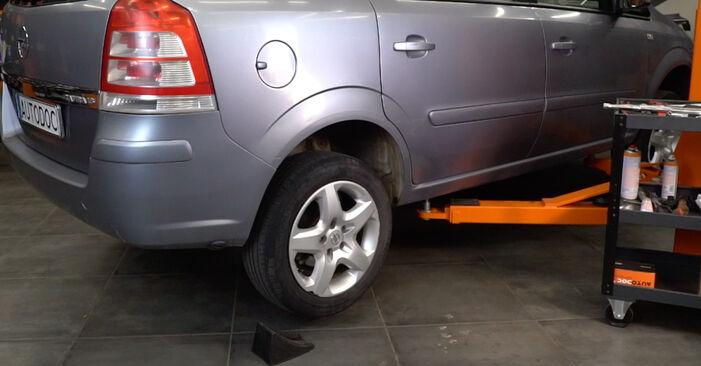 Stoßdämpfer Opel Astra H Caravan 1.9 CDTI (L35) 2006 wechseln: Kostenlose Reparaturhandbücher