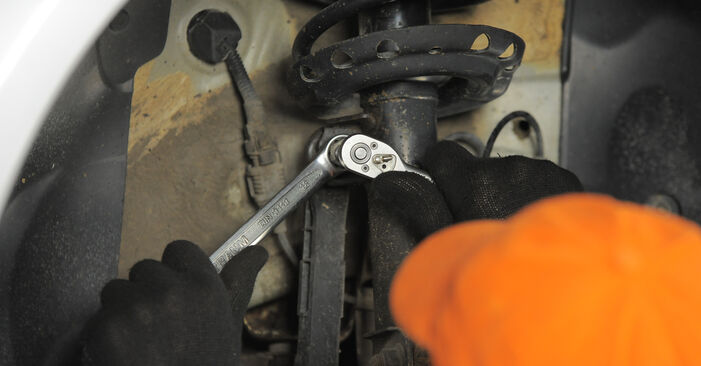 Wie schwer ist es, selbst zu reparieren: Koppelstange Astra H Caravan 1.6 (L35) 2010 Tausch - Downloaden Sie sich illustrierte Anleitungen