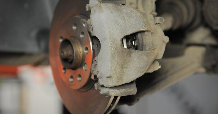 Tausch Tutorial Bremsscheiben am OPEL Astra H Caravan (A04) 2005 wechselt - Tipps und Tricks