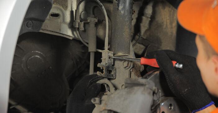 Wie schwer ist es, selbst zu reparieren: Domlager Astra H Caravan 1.6 (L35) 2010 Tausch - Downloaden Sie sich illustrierte Anleitungen