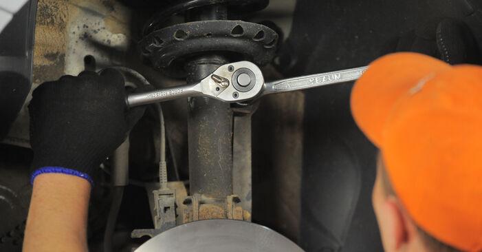 Domlager Ihres Astra H Caravan 1.9 CDTI (L35) 2012 selbst Wechsel - Gratis Tutorial
