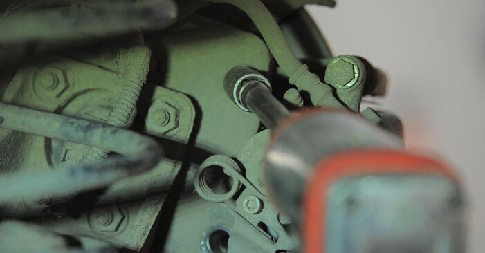 OPEL ASTRA 2011 Спирачен диск стъпка по стъпка наръчник за смяна