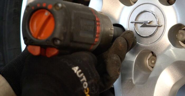 Jak vyměnit Lozisko kola na OPEL Astra H Caravan (A04) 2005 - tipy a triky