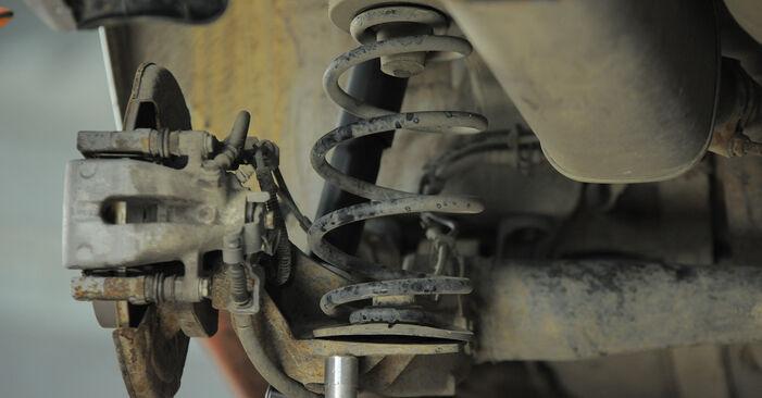 Federn Ihres Opel Astra H Caravan 1.9 CDTI (L35) 2012 selbst Wechsel - Gratis Tutorial