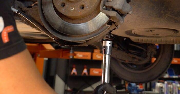 Schritt-für-Schritt-Anleitung zum selbstständigen Wechsel von Opel Astra H Caravan 2006 1.4 (L35) Federn
