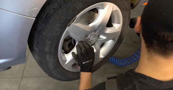 Wie schwer ist es, selbst zu reparieren: Federn Opel Astra H Caravan 1.6 (L35) 2010 Tausch - Downloaden Sie sich illustrierte Anleitungen