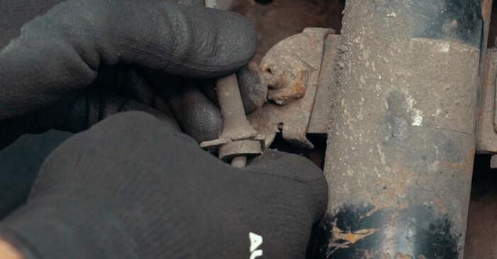 Ford Mondeo mk3 Sedanas 2002 2.0 TDCi Amortizatoriaus Atraminis Guolis keitimas savarankiškai