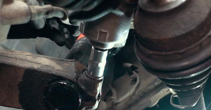 Ford Mondeo mk3 Sedanas 2.0 16V 2002 Amortizatoriaus Atraminis Guolis keitimas: nemokamos remonto instrukcijos