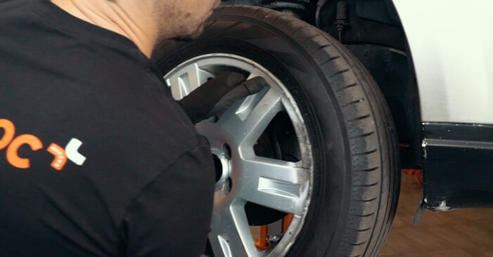 FORD MONDEO 1.8 SCi Springs replacement: online guides and video tutorials