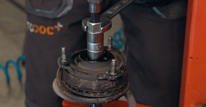 How to remove FORD MONDEO ST220 3.0 2004 Springs - online easy-to-follow instructions