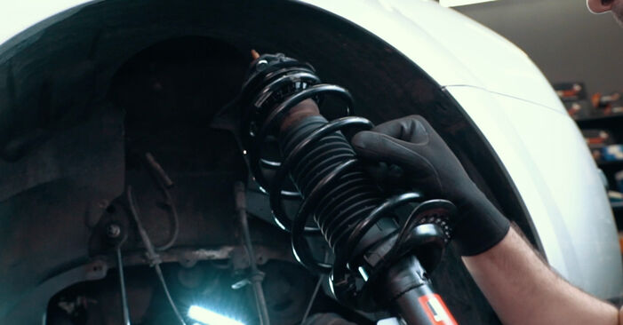 Changing Springs on FORD MONDEO III Saloon (B4Y) 1.8 16V 2003 by yourself