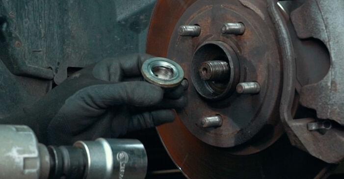 Stoßdämpfer am FORD MONDEO III Stufenheck (B4Y) 2.5 V6 24V 2005 wechseln – Laden Sie sich PDF-Handbücher und Videoanleitungen herunter