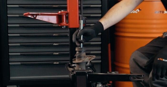 FORD MONDEO 2.0 TDCi Stoßdämpfer ausbauen: Anweisungen und Video-Tutorials online