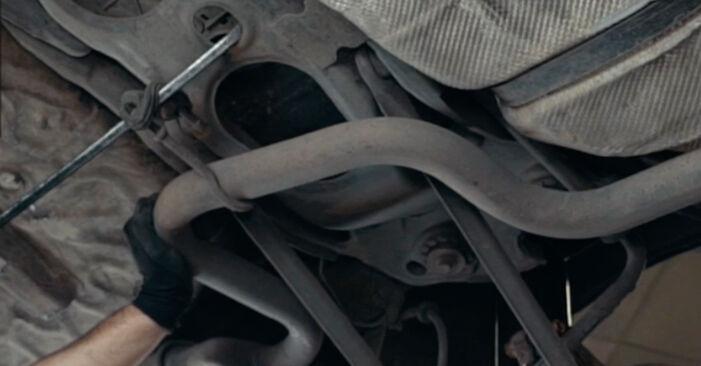 Kui kaua kulub välja vahetamisele: sõiduki Ford Mondeo mk3 Sedaan 2000 Käsijarru Vaijeri - informatiivne kasutusjuhend PDF vormis