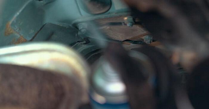 Kuidas vahetada välja FORD MONDEO III Luukpära (B4Y) 2004 Käsijarru Vaijeri - näpunäited ja trikkid