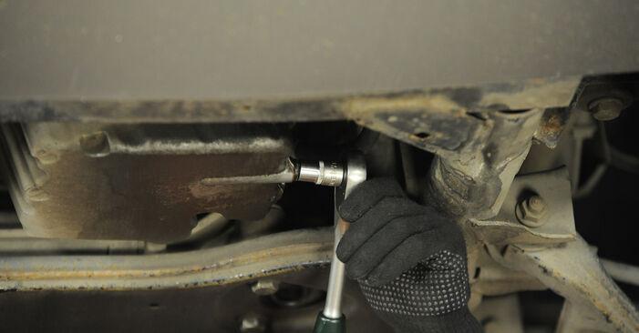Mercedes Vito W639 113 CDI 2.2 2005 Eļļas filtrs nomaiņa: bezmaksas remonta rokasgrāmatas