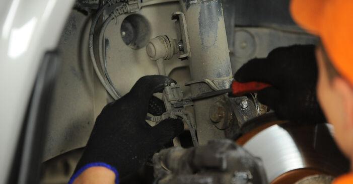 Stoßdämpfer Ihres Mercedes Vito W639 110 CDI 2.2 2011 selbst Wechsel - Gratis Tutorial