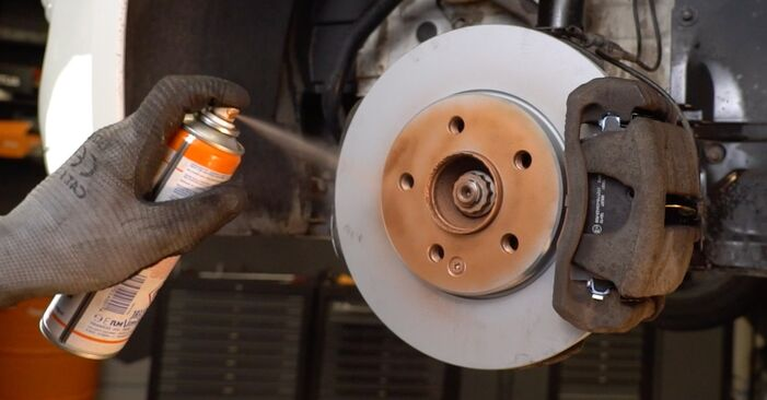 How to change Brake Discs on Mercedes Vito W639 2003 - free PDF and video manuals