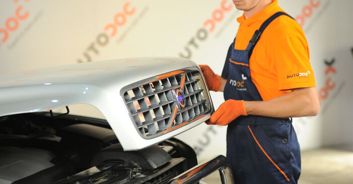 Kā nomainīt Gaisa filtrs Volvo XC90 1 2002 - bezmaksas PDF un video rokasgrāmatas
