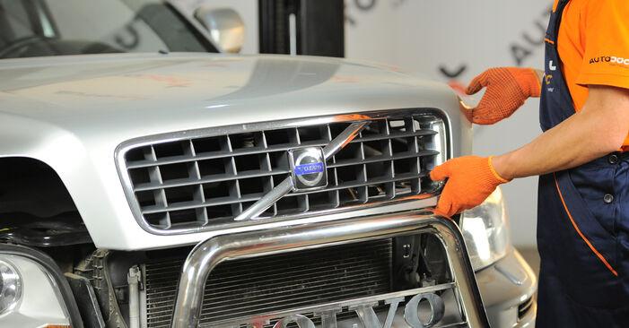 XC90 I (275) 3.2 AWD 2013 Gaisa filtrs patstāvīgas nomaiņas remonta rokasgrāmata
