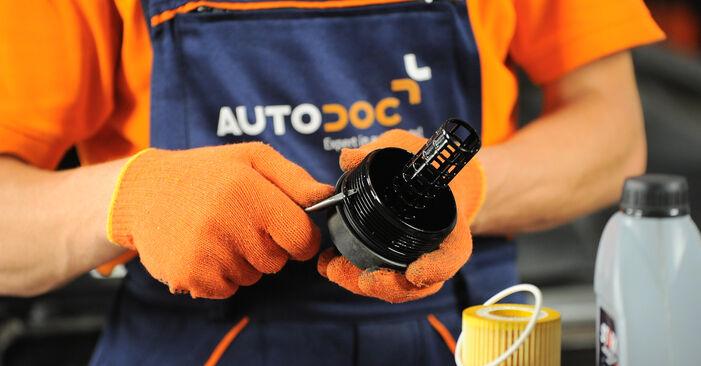 Tausch Tutorial Ölfilter am VOLVO XC90 I (275) 2014 wechselt - Tipps und Tricks