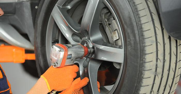 Wechseln Traggelenk am VOLVO XC90 I (275) 4.4 V8 2005 selber