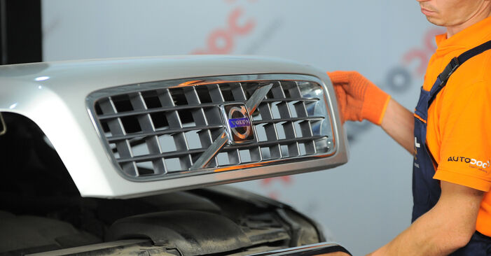 Kaip pakeisti Amortizatoriaus Atraminis Guolis la Volvo XC90 1 2002 - nemokamos PDF ir vaizdo pamokos