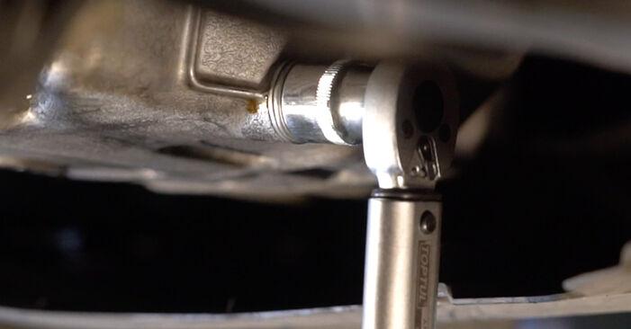 À quel point est-il difficile de le faire soi-même : télécharger le guide illustré pour le changement de Filtre à Huile sur Honda Jazz gd 1.5 2007