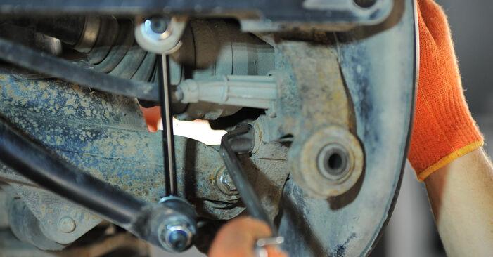 XC90 I (275) 3.2 AWD 2013 Riteņa rumbas gultnis patstāvīgas nomaiņas remonta rokasgrāmata
