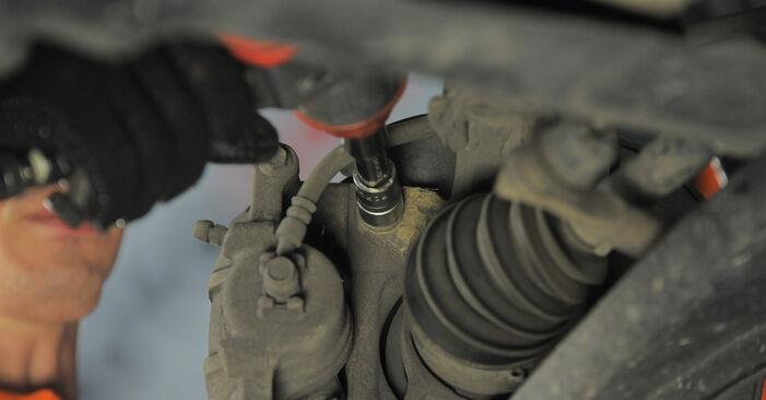 Wie schwer ist es, selbst zu reparieren: Radlager Honda Jazz gd 1.5 2007 Tausch - Downloaden Sie sich illustrierte Anleitungen