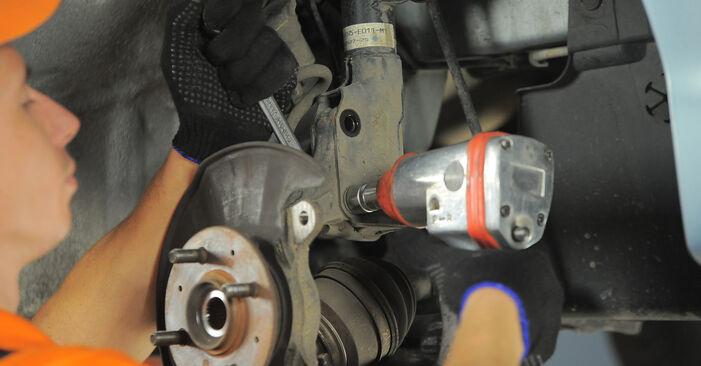 Wie HONDA JAZZ 1.4 2005 Radlager ausbauen - Einfach zu verstehende Anleitungen online