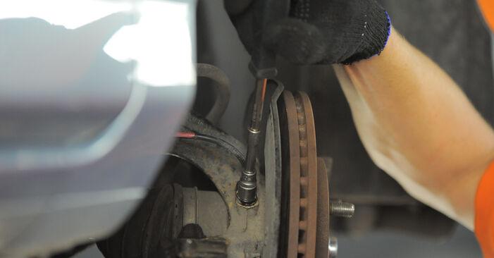 Schritt-für-Schritt-Anleitung zum selbstständigen Wechsel von Honda Jazz gd 2006 1.4 Radlager
