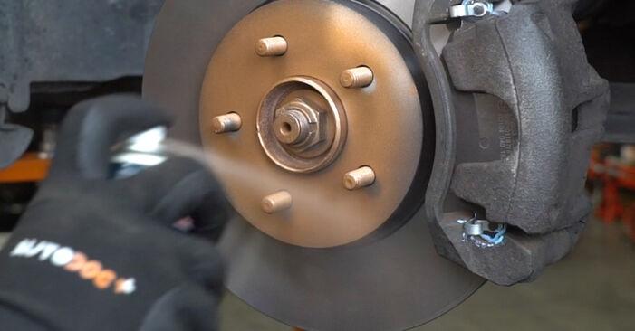 Bremsscheiben Ihres Ford Mondeo mk3 Limousine 1.8 SCi 2000 selbst Wechsel - Gratis Tutorial