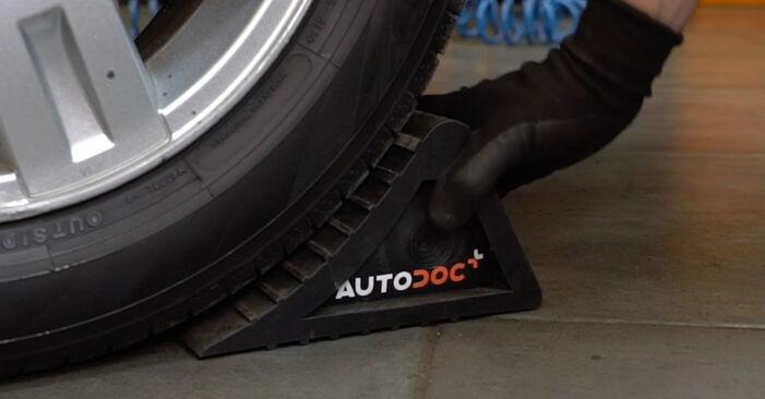 Schritt-für-Schritt-Anleitung zum selbstständigen Wechsel von Ford Mondeo mk3 Limousine 2005 ST220 3.0 Bremsscheiben