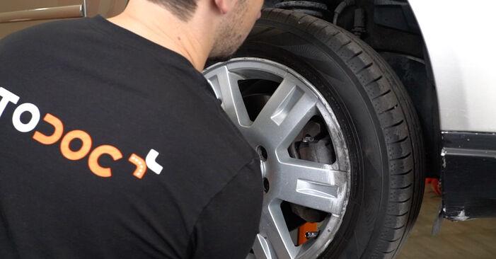 Wie FORD MONDEO ST220 3.0 2004 Bremsscheiben ausbauen - Einfach zu verstehende Anleitungen online