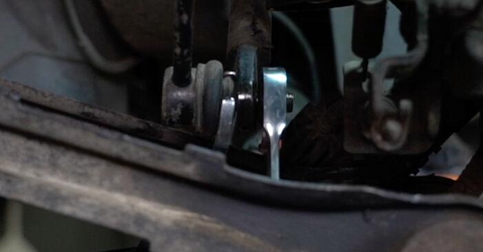 Не е трудно да го направим сами: смяна на Свързваща щанга на Ford Mondeo mk3 Седан 2.2 TDCi 2006 - свали илюстрирано ръководство