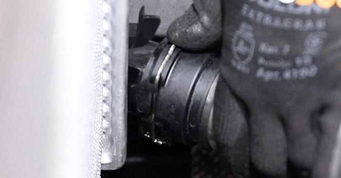 Wie BMW 5 SERIES 520i 2.2 1998 Kühler ausbauen - Einfach zu verstehende Anleitungen online