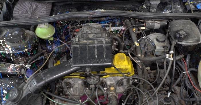 Смяна на Факелна стартова система на VW GOLF II (19E, 1G1) 1983 1.8 GTI самостоятелно