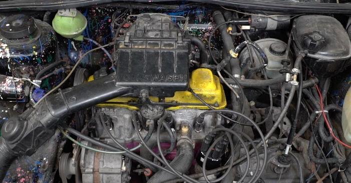VW GOLF 1.8 GTI Zapalovací Kabely výměna: online návody a video tutoriály