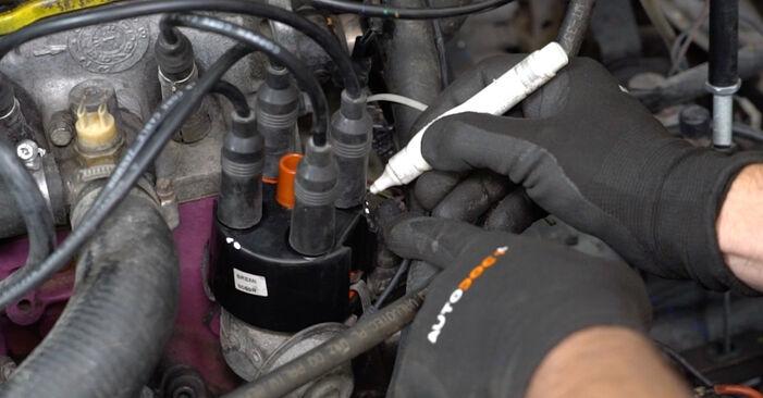 Svépomocná výměna Zapalovací Kabely na VW GOLF II (19E, 1G1) 1.3 Cat 1986